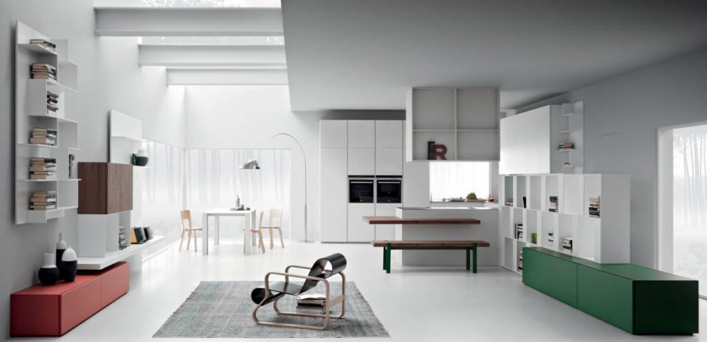 Cucine Con Un Tocco Di Colore : Cucine designer destinations