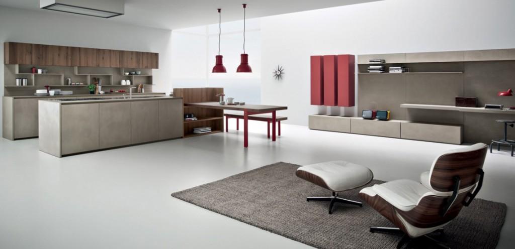 Cucine moderne e giovanili, personalizzabili.