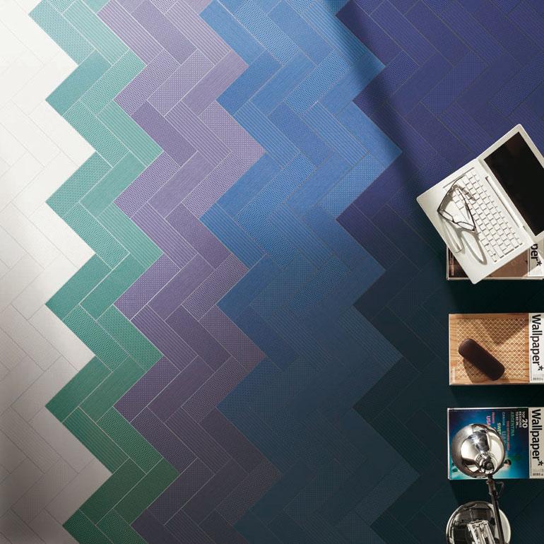 Vibrazioni Cromatiche: 10x60 - 10x30 - 30x30 (mosaico) - 20x120