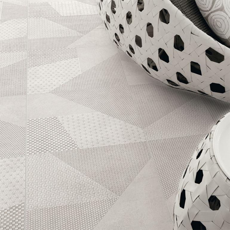 Origami in bianco e nero: 60x60 - 20x20