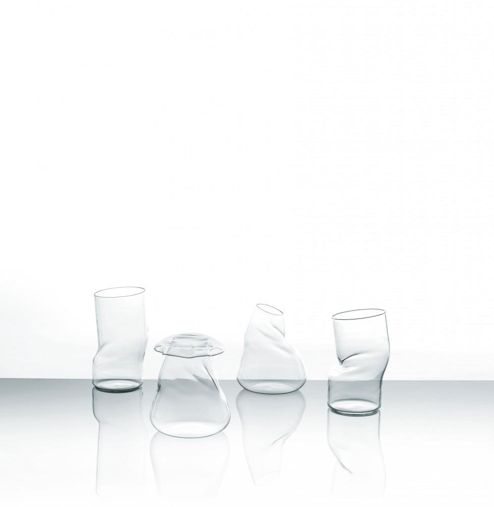 Vasi in vetro di design