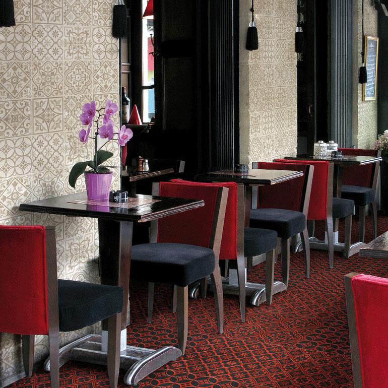 Glamour Ceramica in bianco, marrone, rosso, blu e nero: 20x20cm - 60x60cm