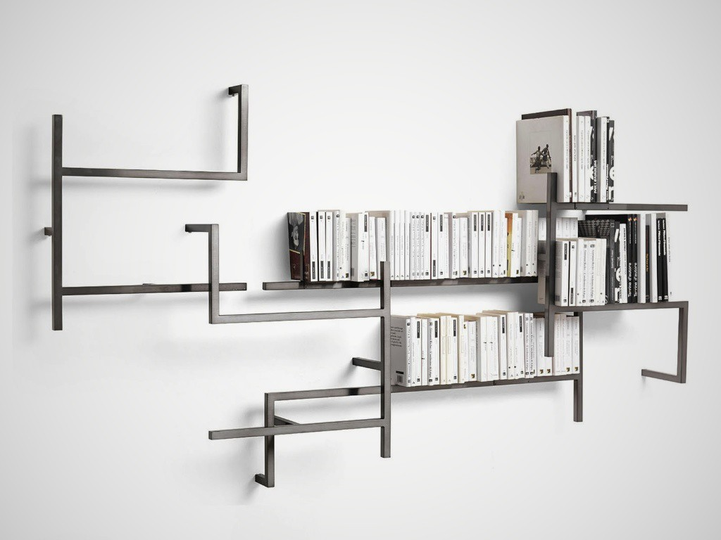 Complementi d arredo e accessori designer destinations for Libreria in ferro