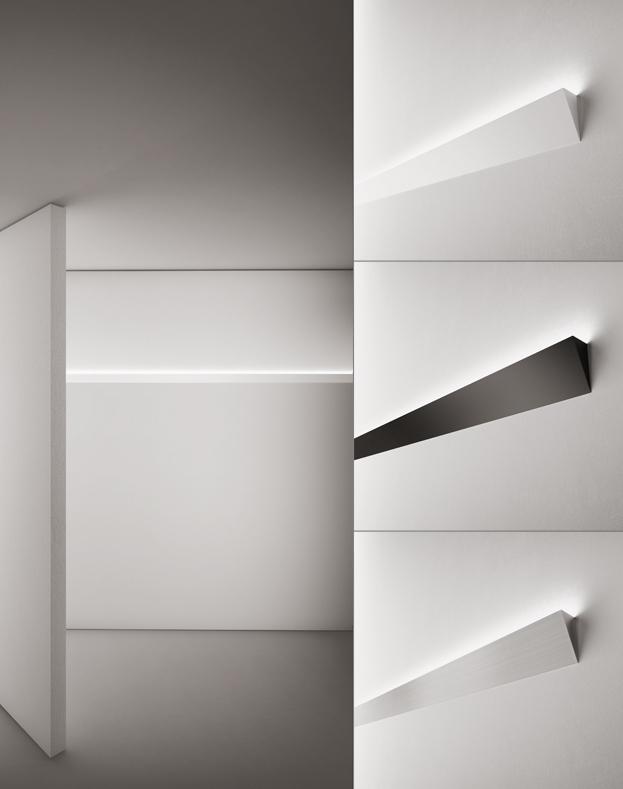 profilo alluminio con strip led